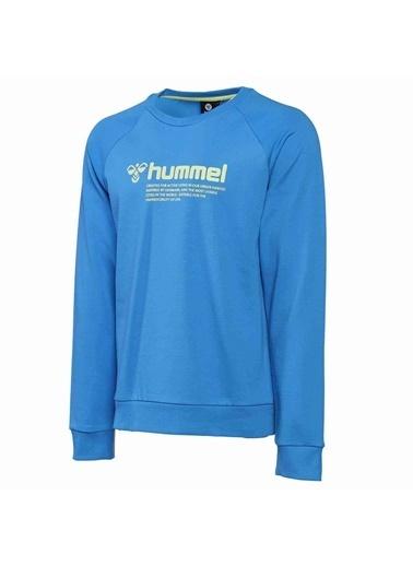 Hummel Numas Sweatshırt Mavi